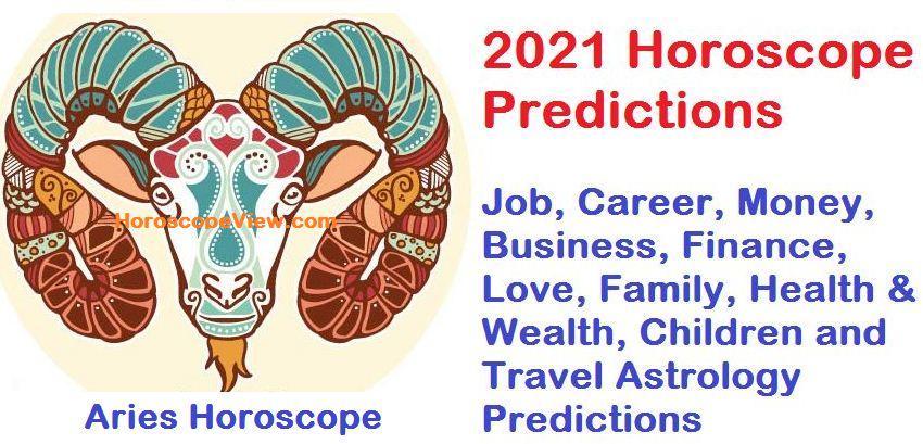 Aries 2021 Horoscope
